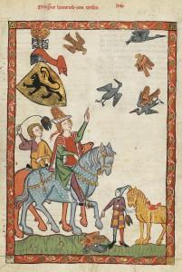 Codex_Manesse_Markgraf_Heinrich_von_Meißen