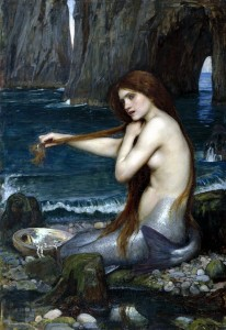 La sirena. John William Waterhouse (1901)