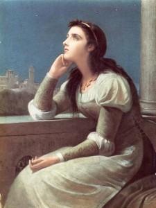 Julieta - Philip Hermogenes Calderon - 1888