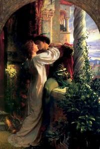 Romeo y Julieta - Escena del balcón - Frank Dicksee
