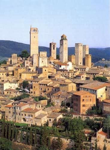 San Gimignano y su skyline medieval