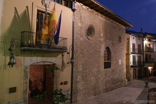Casa de la vila de Morella, sede del Arxiu Històric Notarial